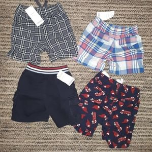 🎉flash sale $18.NWT 4 boys 12-18m shorts Gymboree
